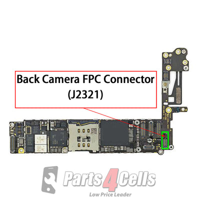 iPhone 6 Rear Camera Connector Port Onboard (J2321)