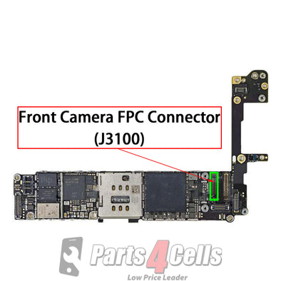 iPhone 6S Front Camera Connector Port Onboard (J3100)
