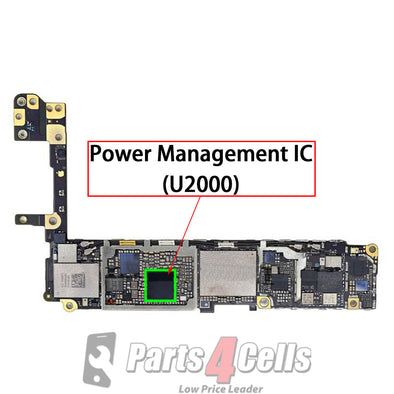 iPhone 6S Power Management Control Big IC #338S00120 / #338S00122 (U2000)
