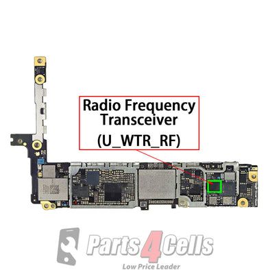 iPhone 6S / 6S Plus Radio Frequency Transceiver IC #WTR3925 (U_WTR_RF)