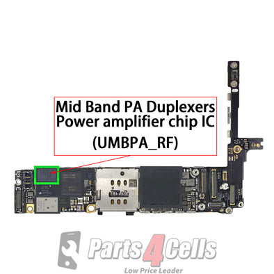iPhone 6S / 6S Plus Power Amplifier IC #ACPM-A8030 (UMBPA_RF)