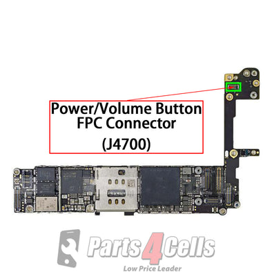 iPhone 6S Power / Volume Button FPC Connector (J4700)
