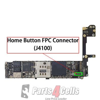iPhone 6S Home Button Connector Port Onboard (J4100)