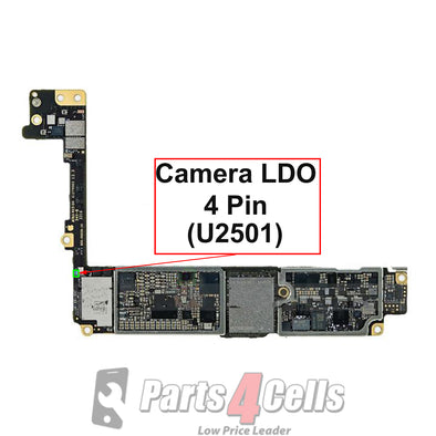 iPhone 7 / 7 Plus Camera LDO 4 Pin IC (U2501)