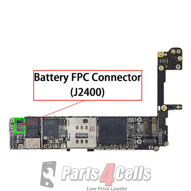 iPhone 6S Battery Connector Port Onboard (J2400)