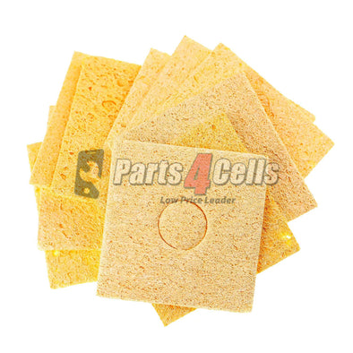 Welding Soldering Iron Cleaning Sponge 5.5*5.5cm 10pcs/pack