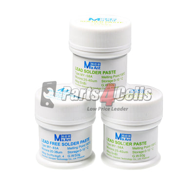 MaAnt Lead Free Solder Paste MY-58A 158℃ 50g
