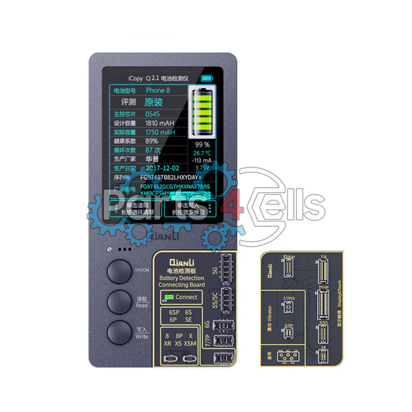 ToolPlus QianLi iCopy Plus 2nd Light Sensor with Battery Testing Recovery Programmer Tool