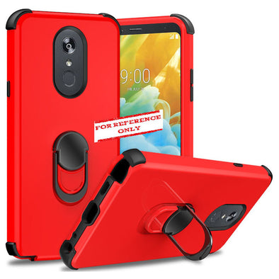 SAFIRE Samsung A21 2020 A215 Ring Hybrid Case Red