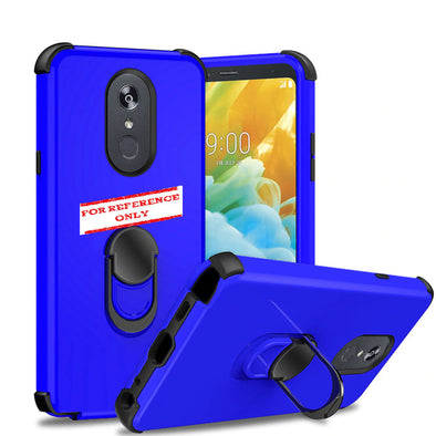 SAFIRE Samsung A21 2020 A215 Ring Hybrid Case Blue