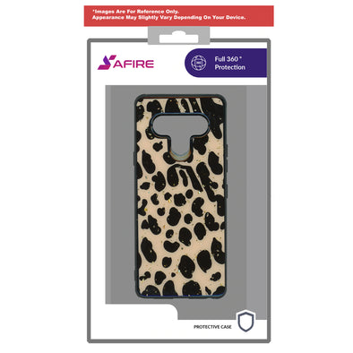 SAFIRE Samsung A21 2020 A215 Marble Case Leopard