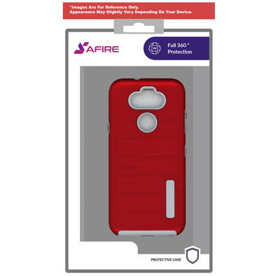 SAFIRE Samsung A11 SM-A115 2020 Deluxe Brush Case Red