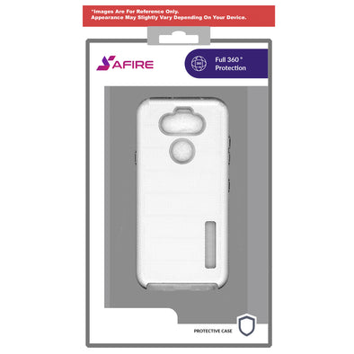 SAFIRE Samsung S20 Plus Deluxe Brushed Case Silver