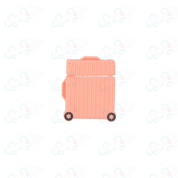 Airpods Case Suit Case Pink