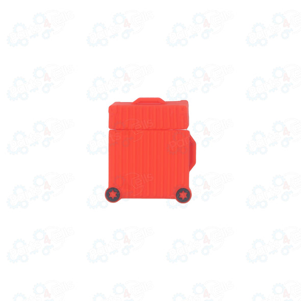 Airpods Case Suit Case Red