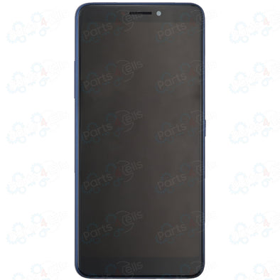 Alcatel 3V 5099 / 50991 LCD with Touch + Frame Blue