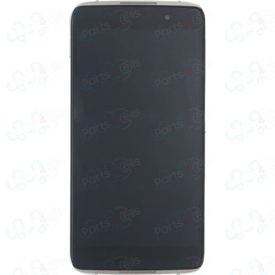 Alcatel One Touch Idol 4 LCD With Touch + Frame Silver