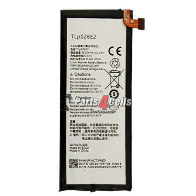 Alcatel One Touch Idol 4 Battery-Parts4Cells