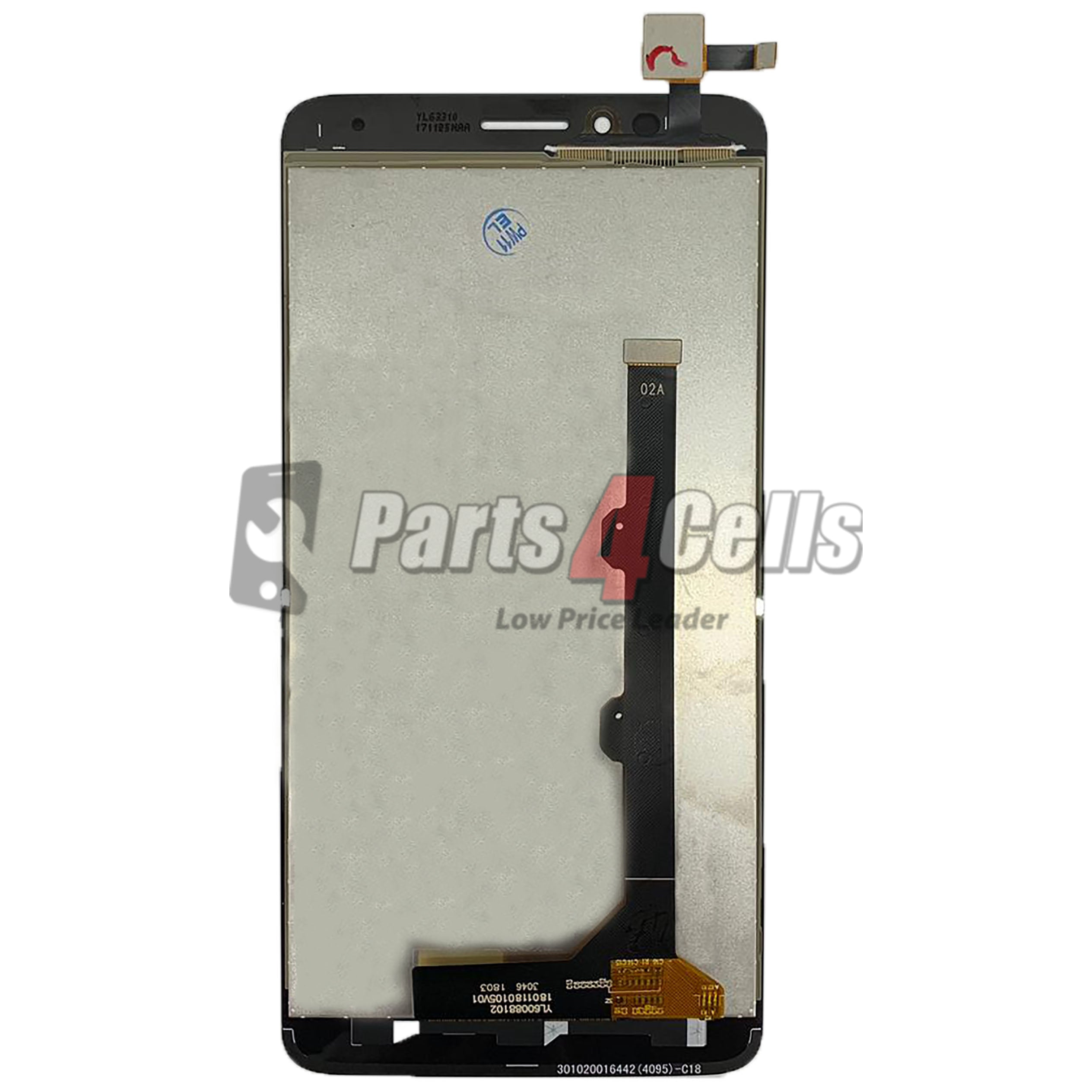 Alcatel Revvl Plus LCD With Touch Black