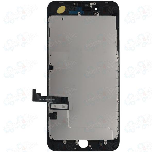 Brilliance iPhone 8 Plus LCD with Touch And Back Plate Black