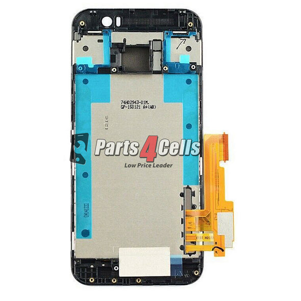 HTC One M9 LCD With Touch  Frame Black-Parts4Cells