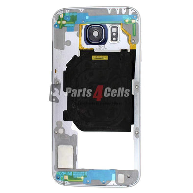 Samsung S6 Middle Frame Blue-Parts4sells