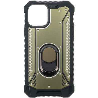 SAFIRE iPhone 11 Pro Magnetic Rugged w/ Kickstand Case Dark Green