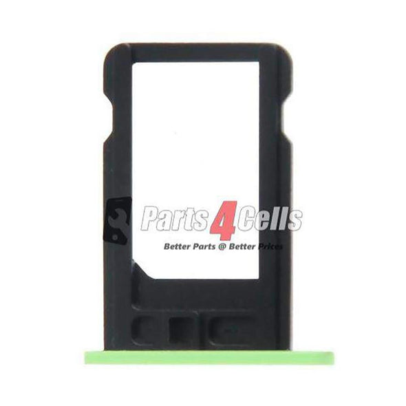 iPhone 5C Sim Tray Green-Parts4Cells