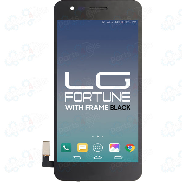 LG Fortune LCD With Touch + Frame Black