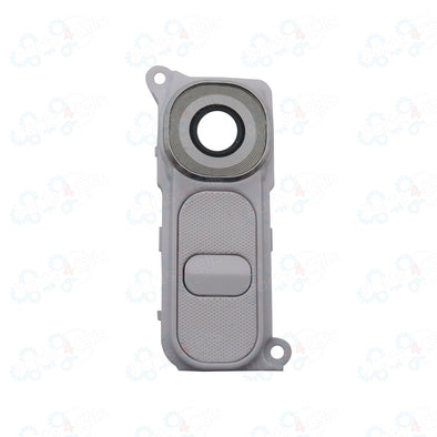 LG G4 Back Camera Lens with Power / Volume Button White
