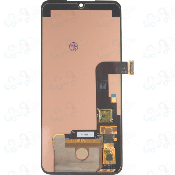 LG G8X / V50S ThinQ LCD with Touch Black