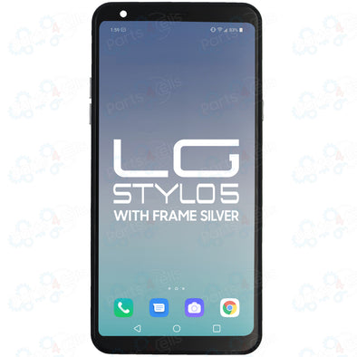 LG Stylo 5 LCD with Touch + Frame Silver
