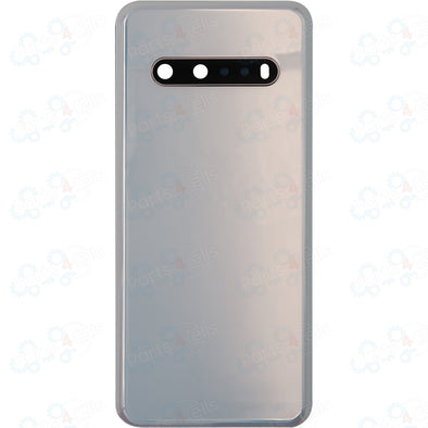 LG V60 ThinQ Back Door w/ Camera Lens + Adhesive White