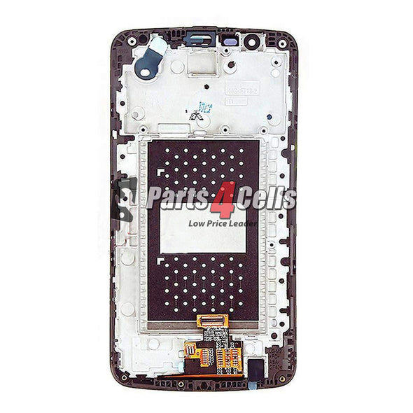 LG K10 LCD With Touch Frame K420N Gold-Parts4cells