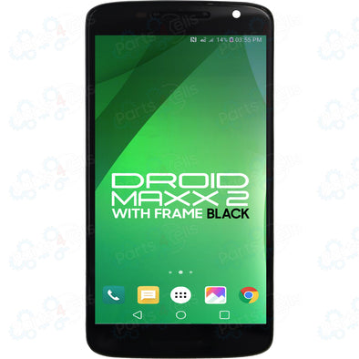 Motorola Droid Maxx 2 LCD with Touch + Frame Black XT1565