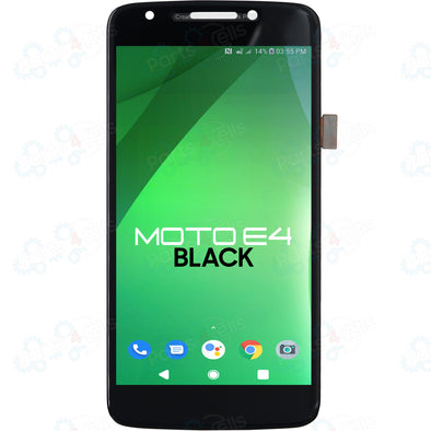 Motorola Moto E4 LCD with Touch Black XT1765, XT1766