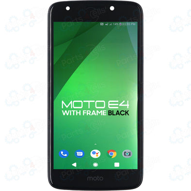 Motorola Moto E4 LCD with Touch + Frame Black XT1765, XT1766