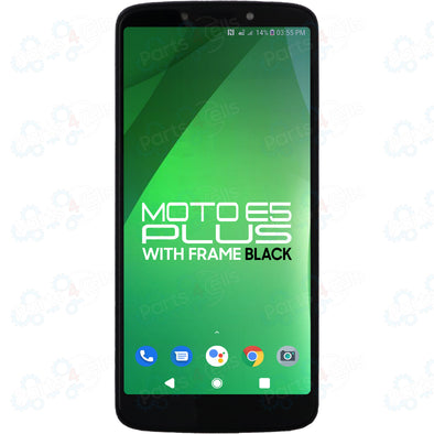 Motorola Moto E5 Plus LCD with Touch + Frame Black XT1924