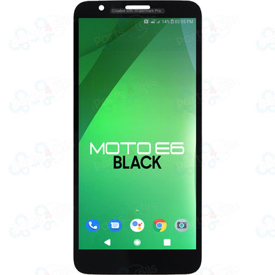 Motorola Moto E6 LCD with Touch Black XT2005