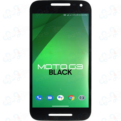 Motorola Moto G 3rd Gen LCD with Touch Black XT1540
