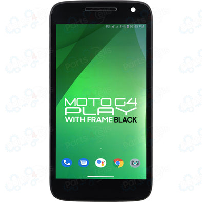 Motorola Moto G4 Play LCD with Touch + Frame Black XT1607