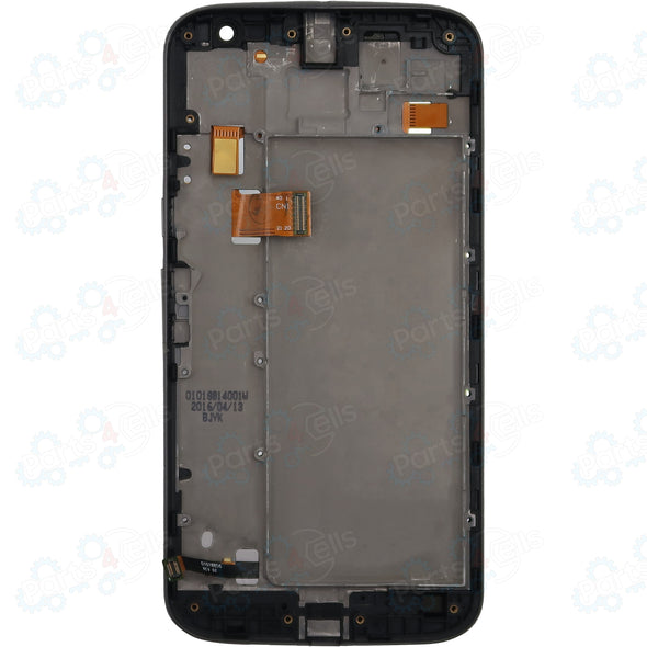 Motorola Moto G4 Plus LCD with Touch + Frame Black XT1640, XT1641, XT1642, XT1643, XT1644