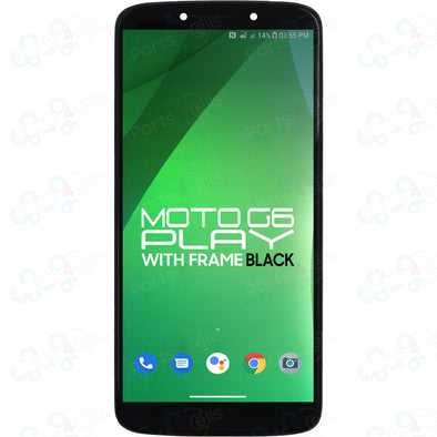 Motorola Moto G6 Play LCD with Touch + Frame Black XT1922