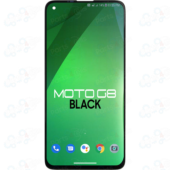 Motorola Moto G8 LCD with Touch Black XT2045