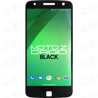 Motorola Moto Z Droid LCD with Touch Black XT1650-01, XT1650-03