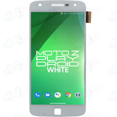 Motorola Moto Z Play Droid LCD with Touch White XT1635