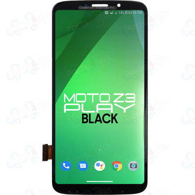 Motorola Moto Z3 Play LCD with Touch Black XT1929