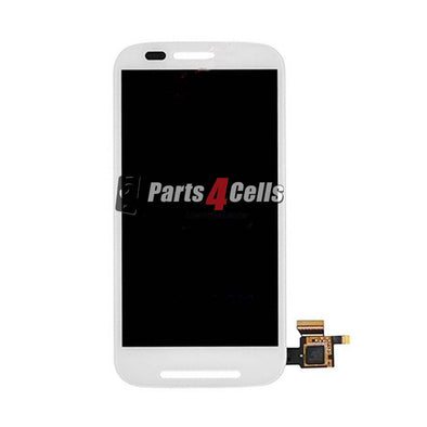Motorola XT1021 MOTO E LCD With Touch White-Parts4Cells