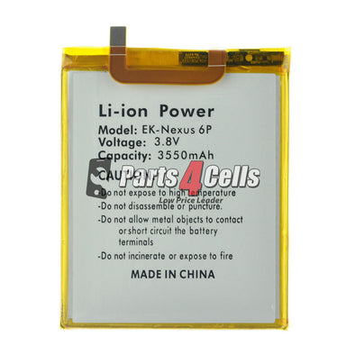 NEXUS 6P Battery-Parts4Cells