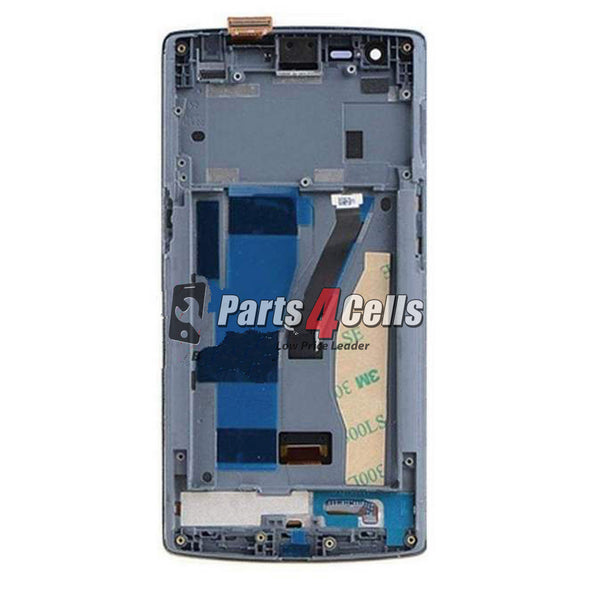 OnePlus One LCD With Touch  Frame Black-Parts4Cells